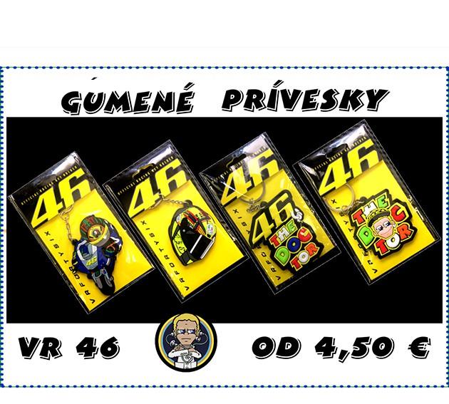Gumenné prívesky - VR46